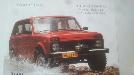 Folder Carro Lada Niva 4x4 Continuo