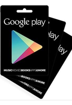 Gift Card Da Google Play