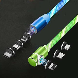 Suker Cable De Carga Magnetico Para Telefono Con Luz Led 3 E