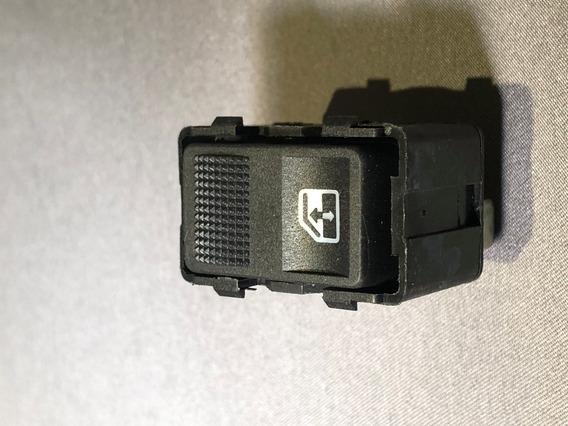 Interruptor De Vidro Dianteiro Sem Moldura Sem Mola Santana/quantum Cinza Urânio 1993 Até 1996