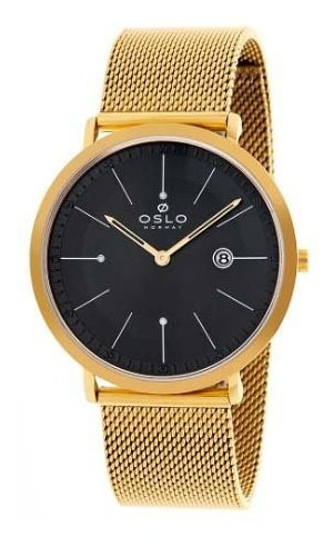 Relógio Oslo Masculino Dourado