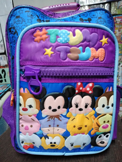 Mochila Con Luz Tsum Tsum Disney Cresko