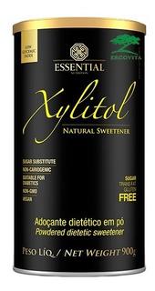 Xylitol Adoçante Natural De Xilitol 900g Essential