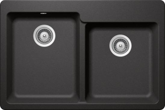pared engrosada filtro de fregadero de acero inoxidable con asa agujeros de alta densidad di/ámetro de la llanta 101 mm Vandicka Juego de 2 coladores para fregadero de cocina