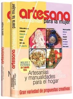 Libros Artesana - Artesanías Para La Mujer 2 Tomos