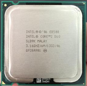 Processador Core 2 Duo E8500 3.16 Ghz Lga 775 100%