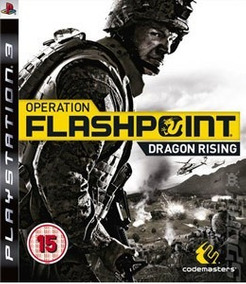 Operation Flashpoint Dragon Rising Ps3 Original Usado