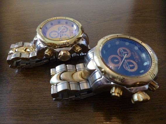 Lote Com 2 Relógios No Estilo Invicta Para Coleção No Menor