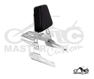 Sissybar P/ Harley Davidson Fat Bob Removível - Cromado