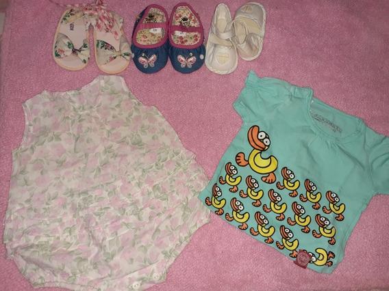 Ropa Usada Niña 0 12 Meses Bodys Pijamas Vestidos