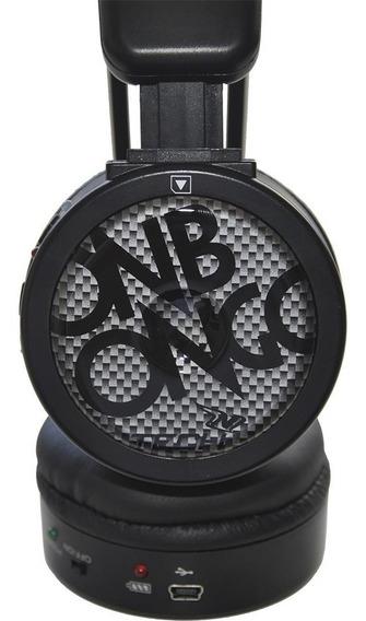 Headphone Fone Ouvido Onbongo Extra Bass, Rádio Fm, Micro Sd