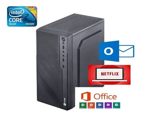 Cpu Simples Oferta Core 2 Duo 320gb De Hd 4gb Ram Netflix