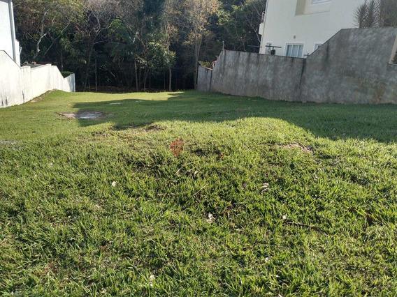 Terreno À Venda Em Condomínio Recanto Dos Paturis - Te007288