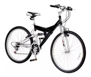 Bicicleta Mtb Doble Suspension Oferta R26 21v + Envío Promo
