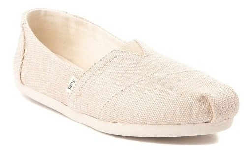 Zapato Casual Toms M. 350874 Classic Beige Natural Mujer / J