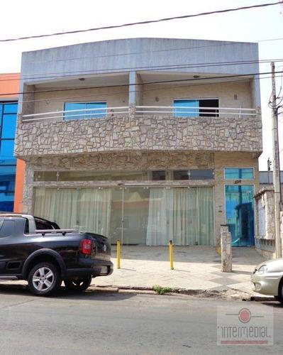 Prédio Comercial À Venda, Centro, Boituva. - Pr0014