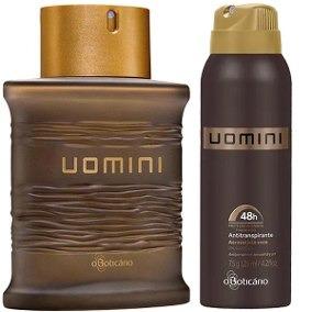 Boticário Uomini Colônia + Desodorante 100% Original