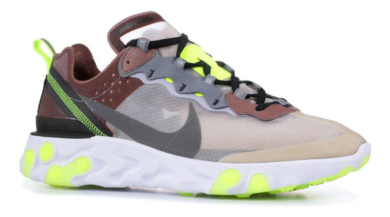 Nike - Nike React Element 87 - Aq1090-002 - Zapatos Correr