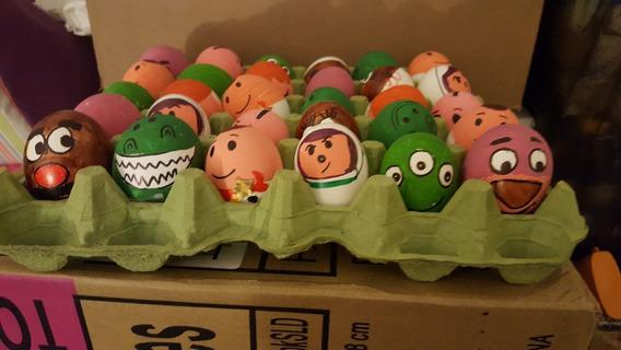 30 Huevo Pascua Decorado Relleno Confenti Toy Story Envió!