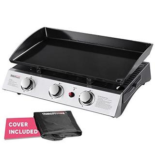 Royal Gourmet Pd1300 Portable 3burner Plancha De Parrilla De