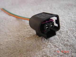 Inyector Diesel Conector Plug 2 Pin precableado-Bosch Diesel Inyectores X 4