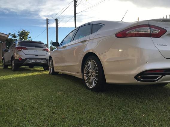 Ford Fusion Titanium Fwd Bx Km Unico Dono Zerado