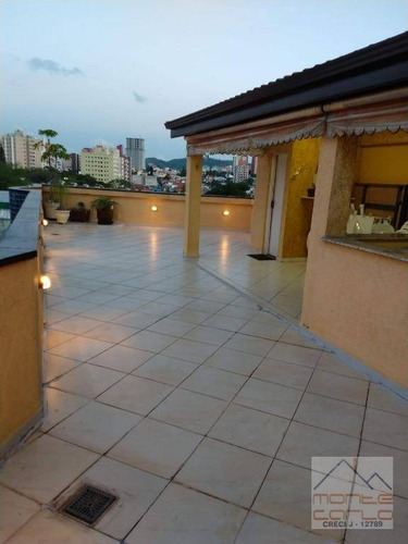 Cobertura Com 3 Dormitórios À Venda, 180 M² Por R$ 750.000,00 - Nova Petrópolis - São Bernardo Do Campo/sp - Co0024