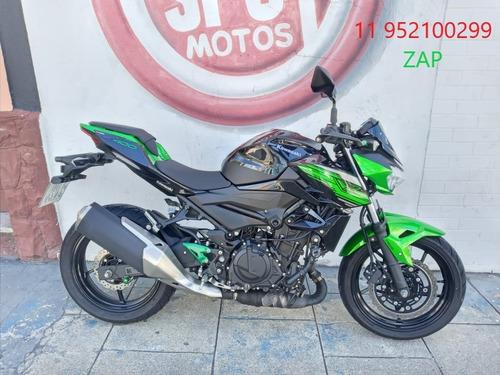 Kawasaki Z 400 2020 Preta