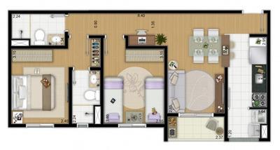 Apartamentos Com 2 Ou 3 Dormitórios: Living Itirapina - 3882