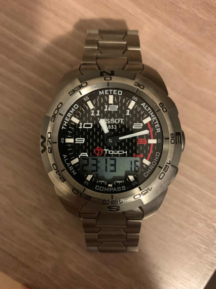 Relógio Tissot T Touch Expert Titânio (original)