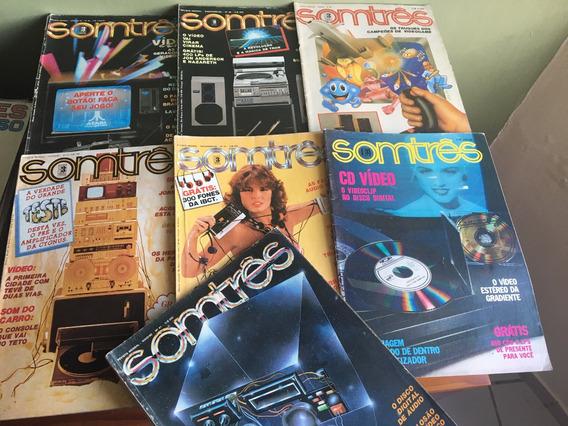 3 Revistas - Somtrês - (nº 56, 66, 112) Frete Grátis