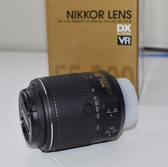Lente Nikon 55-200 Com Garantia