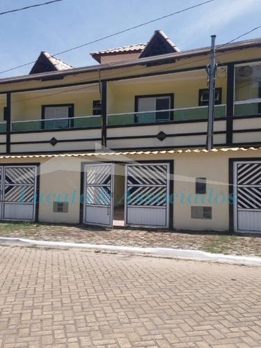 Sobrado Residencial Para Venda No Canto Do Forte, Praia Grande Sp 2 Dormitórios, Sacada De Frente Para Rua, Sala, Lavabo, Cozinha, Quintal - So00191 - 69373204