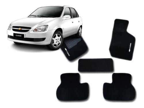 Jogo Tapetes Ecotap Soft Carpete Chevrolet Corsa Classic Pt