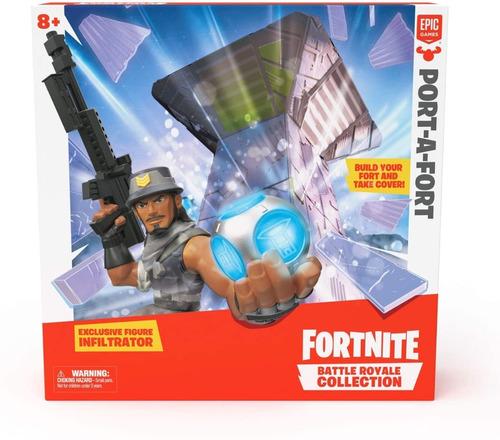 Fortnite Playset Para Armar Un Fuerte Con Personaje