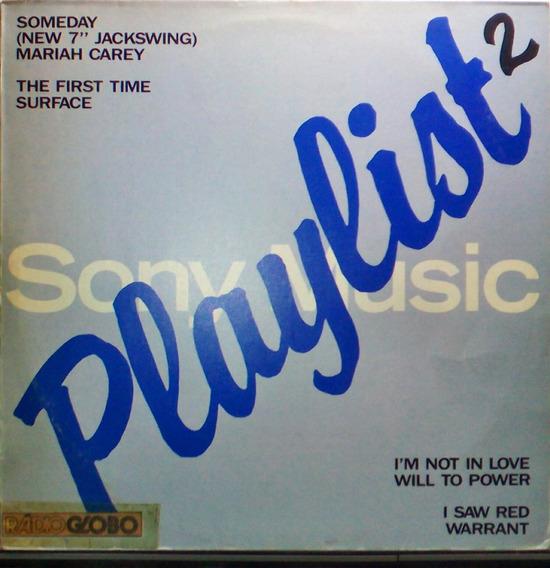 Playlist - Mariah Carey - Lp Mix Promo Sony Music - 1990