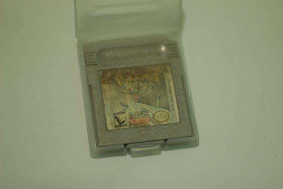 Pokemon Versão Silver 100% Original Para Nintendo Game Boy