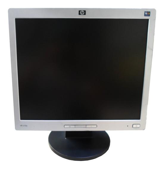 Monitor Lcd Hp 17 Polegadas L1706 Quadrado
