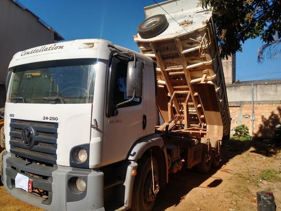 Caminhão Vw 24250/11 6x2 Caçamba