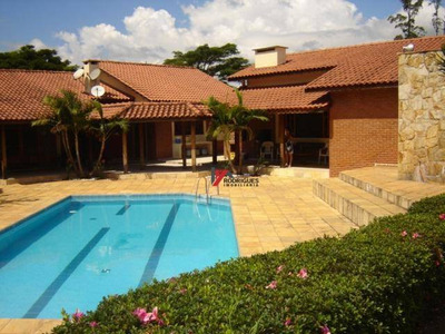 Chácara Residencial À Venda, Jardim Santo Antônio, Atibaia. - Ch0052