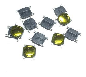 Botão Micro Switch Smd 4x4x0.8mm (70pcs)