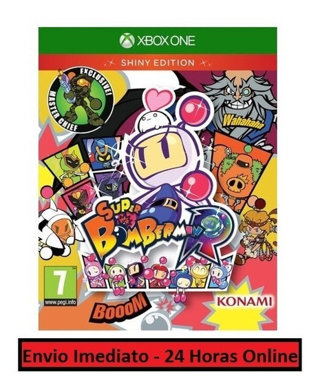 Super Bomberman R Jogo + Todas As Dlcs - Xbox One Digital