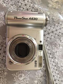 Cámara Canon A630 8 Megapixeles