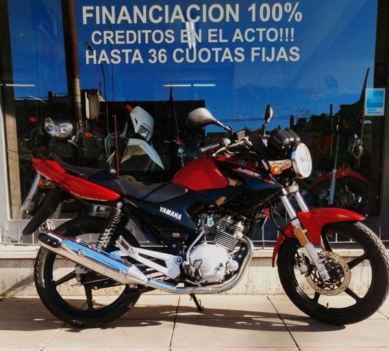 Yamaha Ybr 125 Ed Unico Dueño Financio Dbm Motos