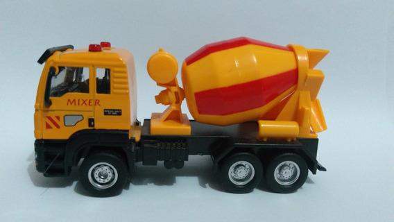 Miniatura Caminhão Betoneira , Escala 1:55