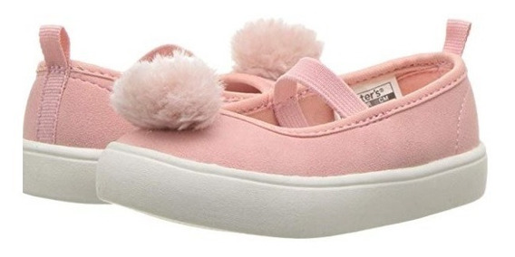 Zapatos Carters Rosados Niña Nuevo Original Usa