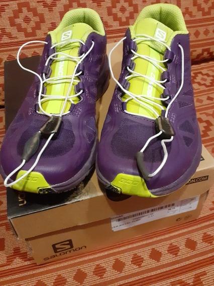 Zapatillas Mujer Salomon Sonic Pro Trail Running