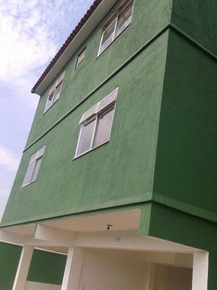 Vila São Luís/belford Roxo. Casa Triplex 2 Quartos, Sala, Cozinha, 2 Banheiros E Garagem. - Ca0075 - 32690365