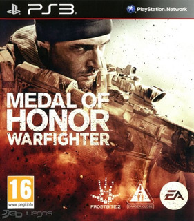 Medal Of Honor Warfighter. Ps3.