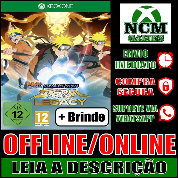 Naruto Shippuden: U Ninja S Legacy Xbox One Off/on + Brinde